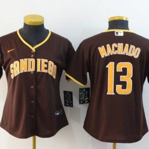 Women Manny Machado San Diego Padres Jersey #13